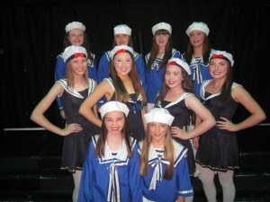 Some of the Dance Kids taking part in 'Anything Goes' (Small)