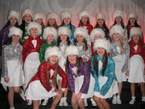 Some of the Dance Kids enjoying Sparkle and Shine' (Small)