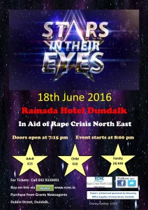 Stars in their eyes email poster
