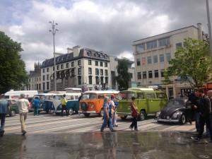 Classic Volkswagen Beetle cars & camper vans in Dundalk.