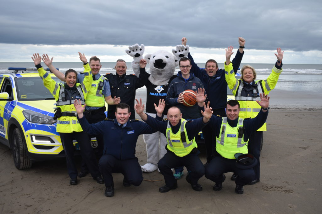 Gardai Launch 2019 Polar Plunge with Cian Martin