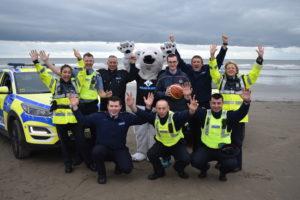Gardai Launch 2019 Polar Plunge with Cian Martin
